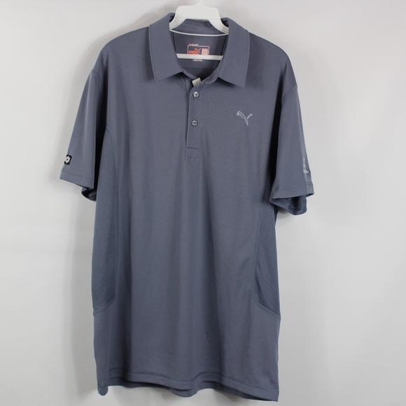 finest selection 8902a f26dc PUMA GOLF New Mens Medium Polo Collared Shirt